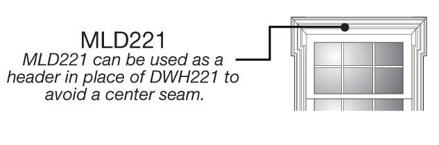 Dwp221 crossette system pilaster set for Fypon cad