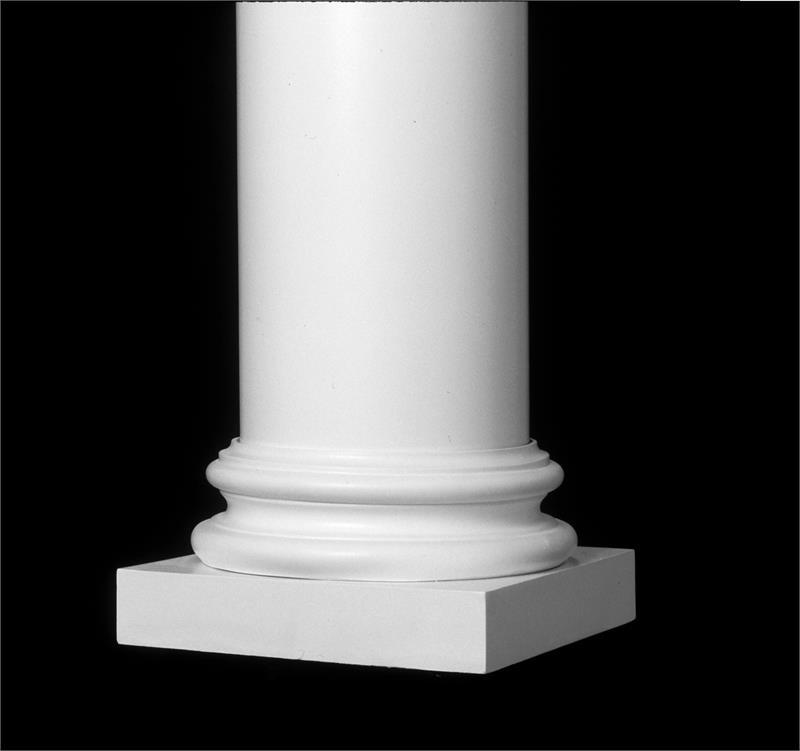 Attic Base For Round Taper Wood Columns, Round Wood Columns